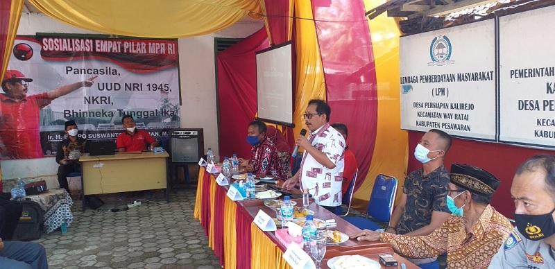 Endro Jembatani Kasus Pemekaran 4 Desa Dengan Mendagri