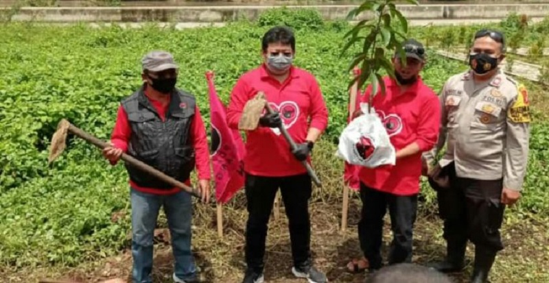 Banteng Kab Tangerang Tanam 10.000 Pohon & Beri Mobil Siaga