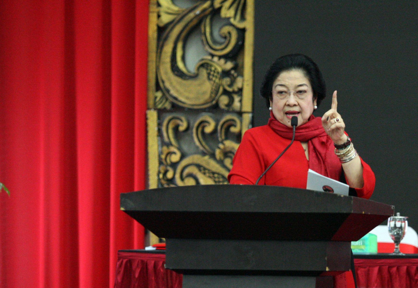 Megawati Tegaskan Kader PDI Perjuangan Jangan KKN!