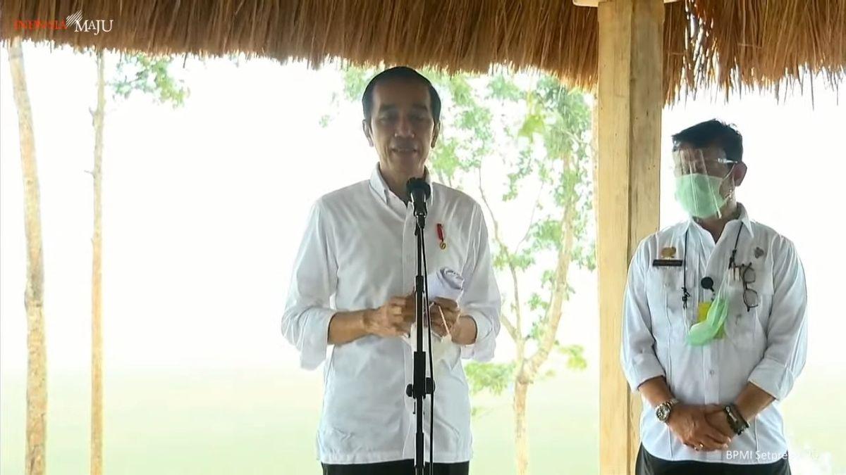 Presiden: Lumbung Pangan di Sumba Tengah Bisa Diperluas