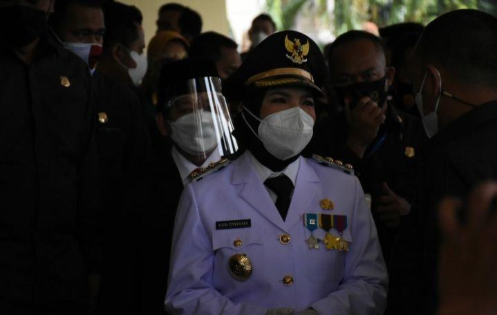 Eva Siap Fokus Tangani Pandemi COVID-19 di Bandar Lampung
