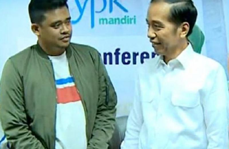 Jokowi Pesan Jangan Korupsi ke Bobby Nasution