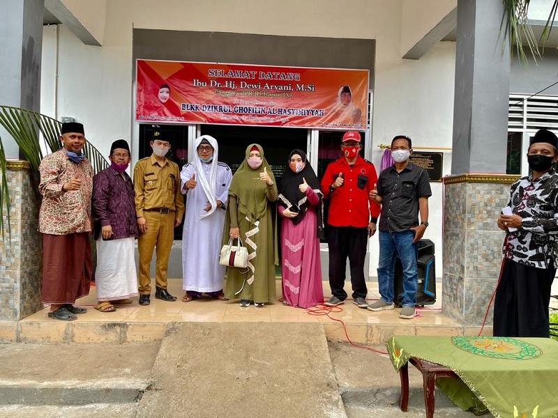 Dewi Aryani Minta Kader Ansor & Banser Dilatih Otomotif