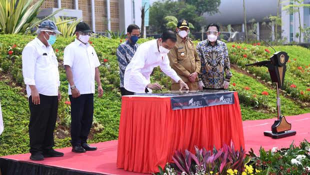 Presiden Jokowi Resmikan Kampus Baru Untirta
