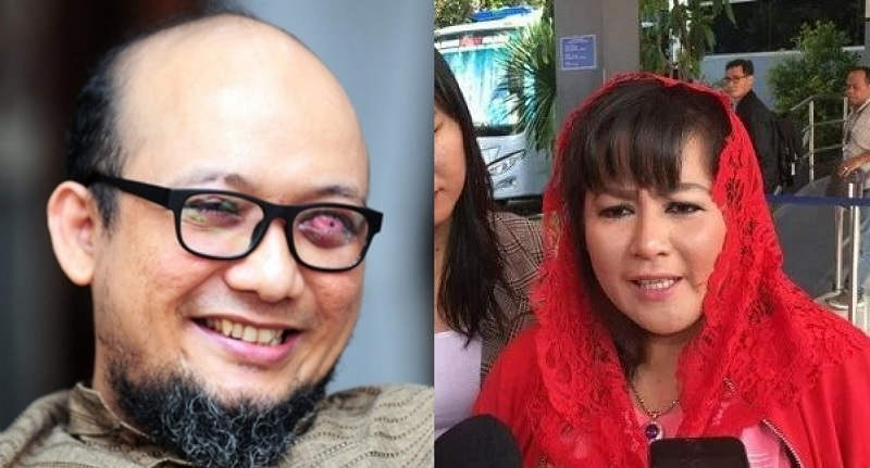 Korupsi di DKI, Dewi Tanjung: Novel Baswedan Lindungi Anies