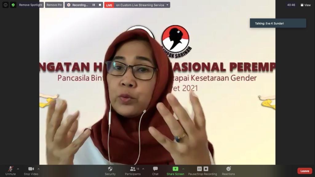 Eva Dukung Kepemimpinan Perempuan Dalam Pemerintahan