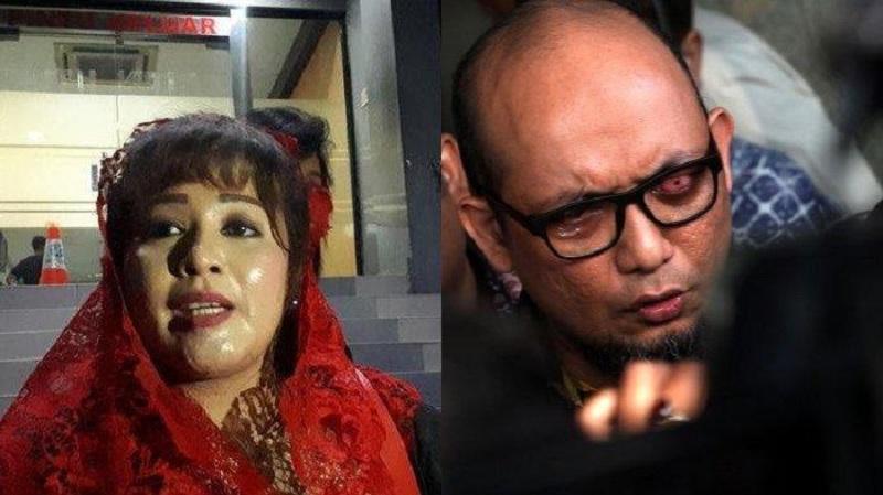 Dewi Sebut Bambang Widjojanto Sebab Novel Lindungi Anies