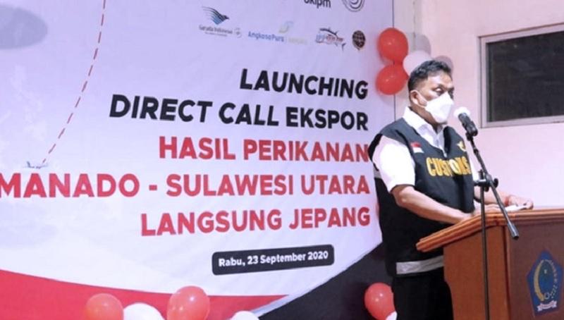 Keren! Gubernur Sulut Luncurkan Direct Call Ekspor Ikan!