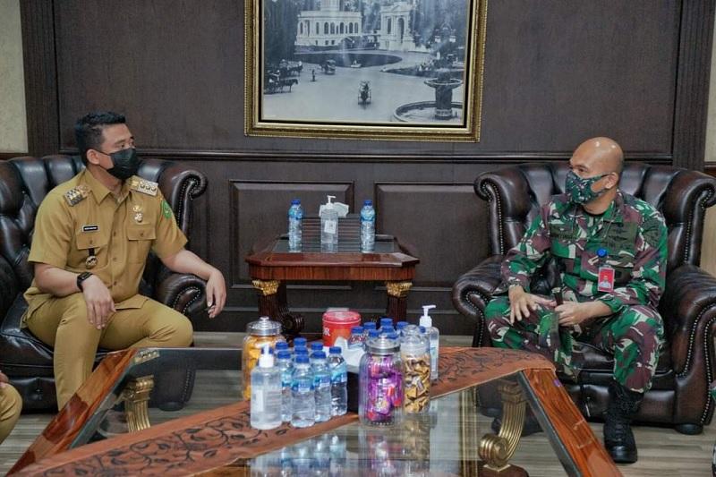 Bobby Ajak Lanud Suwondo Kolaborasi Bangun Medan