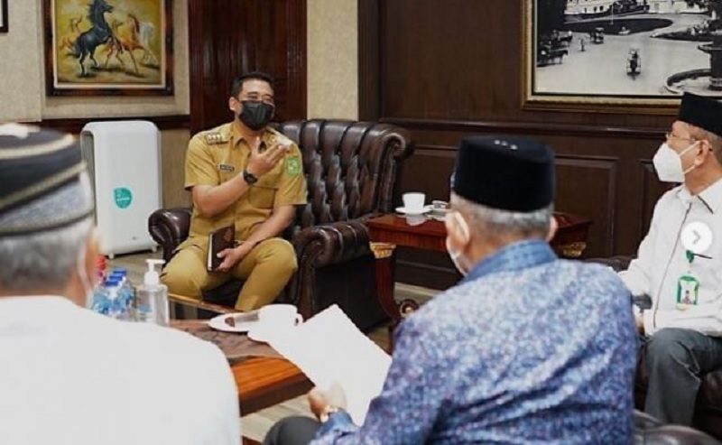 Wali Kota Bobby Bertekad Dukung Progam Baznas