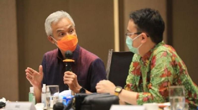 Ganjar Pranowo Dukung Pengembangan Sistem Resi Gudang