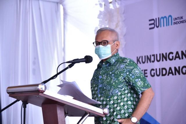 Aria Ajak Grup PTPN Tangani Dampak Pandemi COVID-19