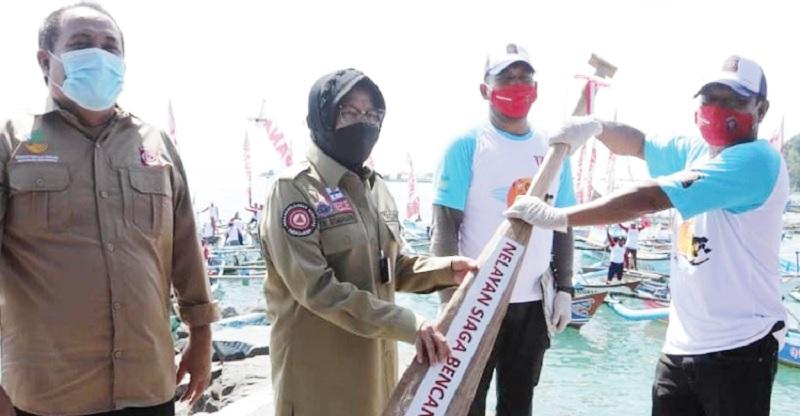 Risma Canangkan Pelatihan Seribu Nelayan Siaga Bencana