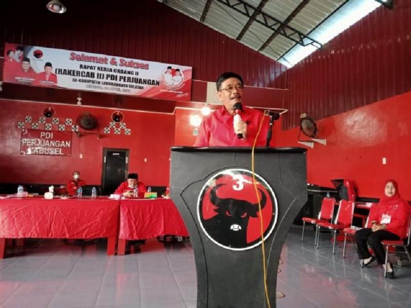 Djarot: Perintah Megawati, PSU Labusel Harus Dimenangkan!