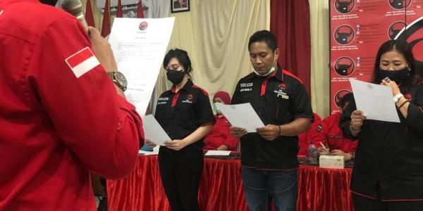 Yuke Yurike Lantik Pengurus Badiklatcab DPC Jaksel