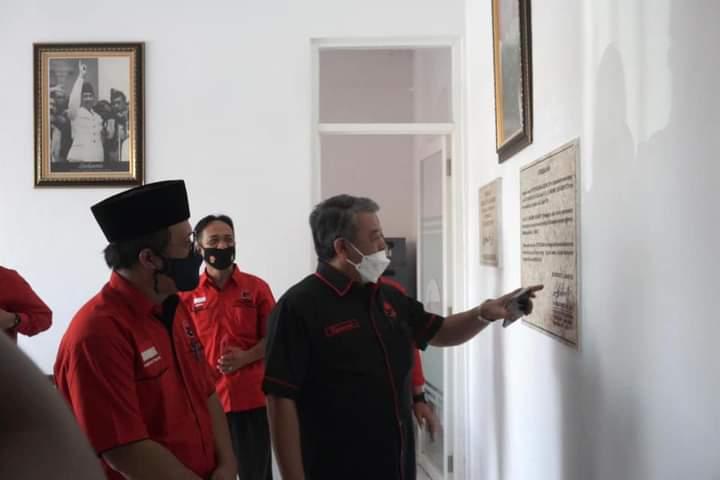 Banteng Bojonegoro Persembahkan Kantor DPC Kepada Megawati