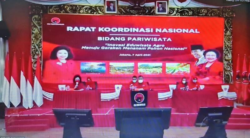 Rakorbid Pariwisata, Hasto: Cintai Indonesia Bak Bung Karno