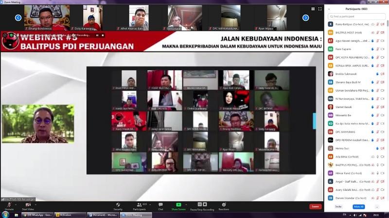Webinar Seri 5 Balitpus,Kebudayaan Jalan Indonesia Maju