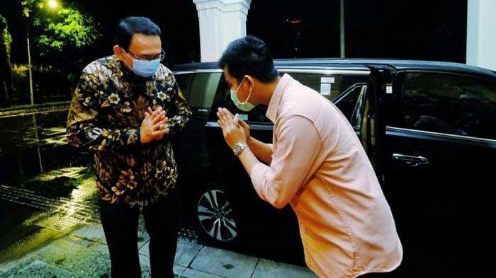 Ahok Sambangi Gibran di Surakarta, Ini Yang Dibahas
