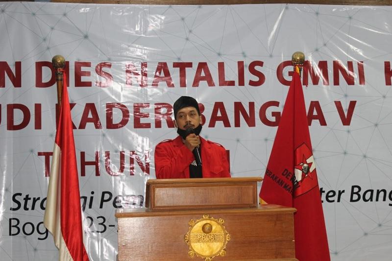 GMNI Soroti Kerusakan Jalan di Bangkalan