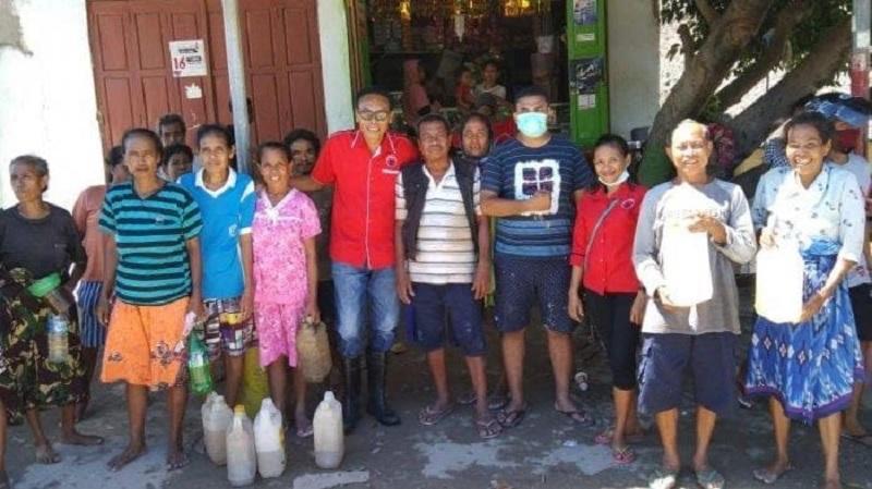 Baguna Malaka Bergerak Bantu Korban Banjir Benenai