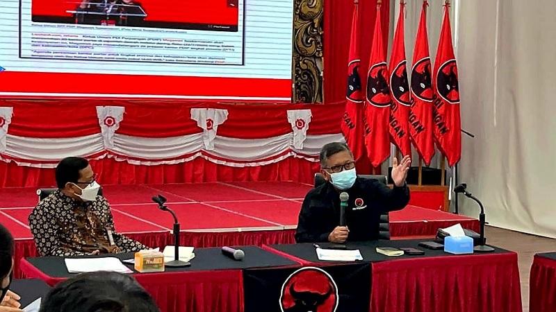Perkuat Integritas, Hasto Pimpin PDI Perjuangan Bertemu KPK
