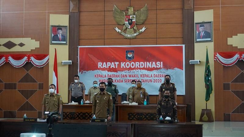 Bupati Kapuas Hulu Ikuti Rakor Kepala Daerah Hasil Pilkada