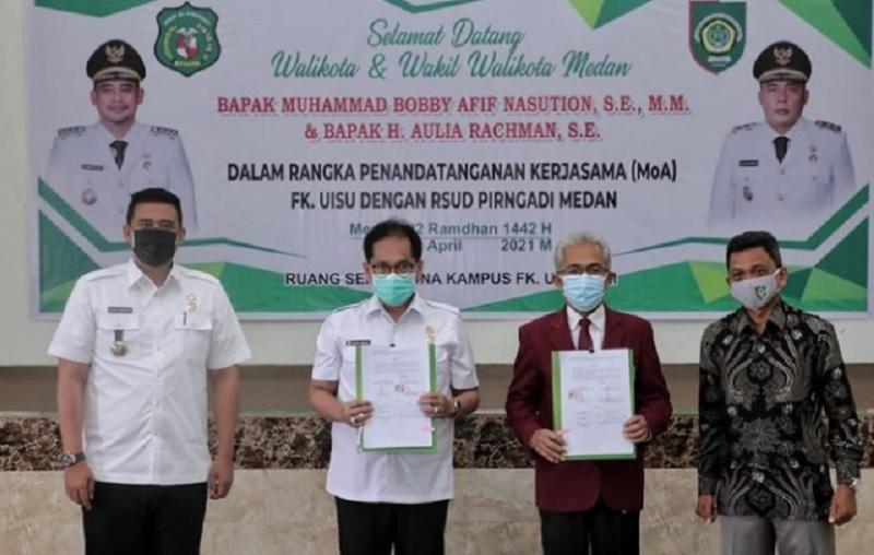 Bobby Gandeng Universitas Islam Kerjasama Berbagai Bidang