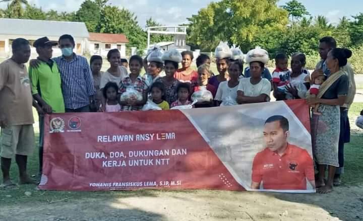Ansy Kembali Salurkan Bantuan Untuk Korban Bencana NTT