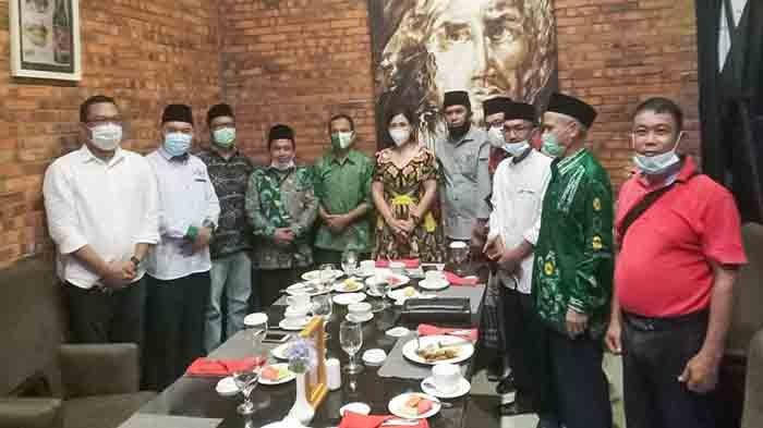 Maria Lestari Silaturahmi Bersama Pengurus PWNU Kalbar
