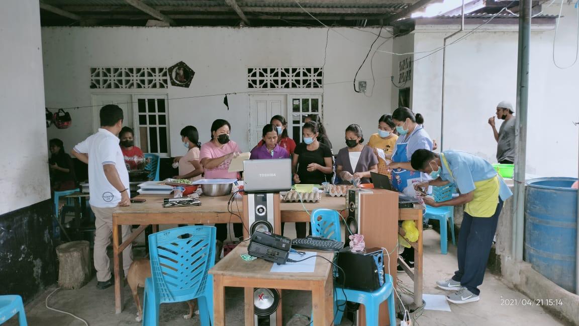 Ansy Gandeng KKP Gelar Pelatihan Diversifikasi Olahan Ikan