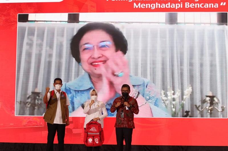 Zero Victim, Megawati Canangkan Gerakan Budaya Siaga Bencana