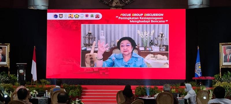 Megawati Minta Pejabat & Pemda Serius Soal Potensi Bencana