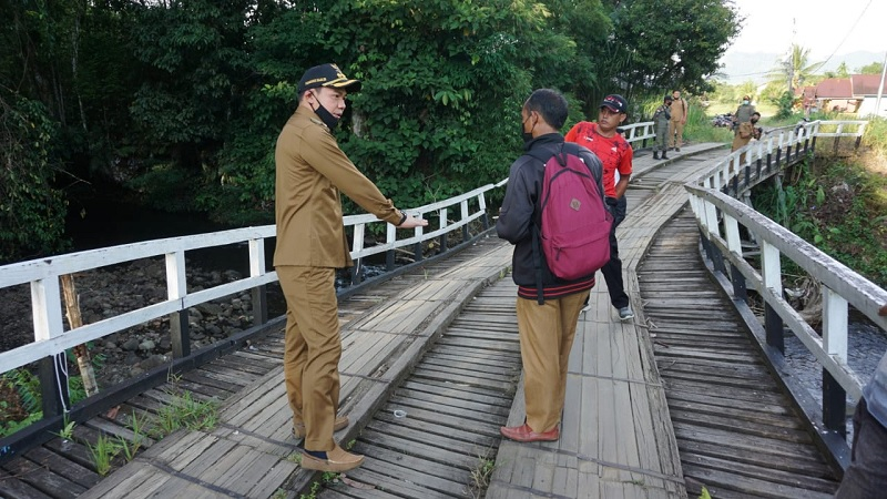 Bupati F.Diaan: Jembatan Nanga Tubuk Harus Diprioritaskan!