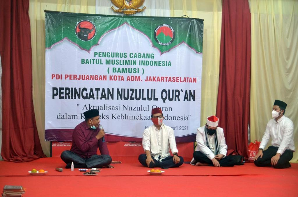 Banteng Jaksel & BAMUSI Gelar Peringatan Nuzulul Qur'an