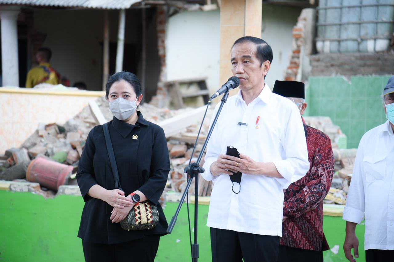 Pemerintah Siap Bantu Rumah Yang Rusak Akibat Gempa