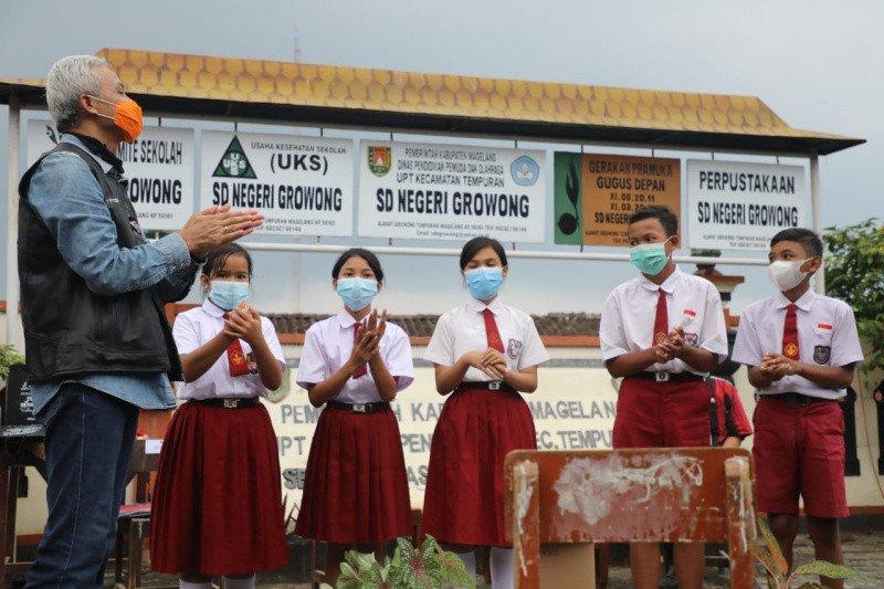 Hardiknas, Ganjar Hadiahi Daerah Terpencil Jaringan Internet