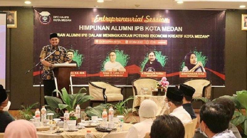 Bobby Buka Puasa Bersama Himpunan Alumni IPB Kota Medan