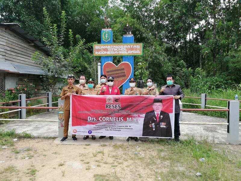 Batas RI-Malaysia, Cornelis Minta Pembangunan Rampung 2024