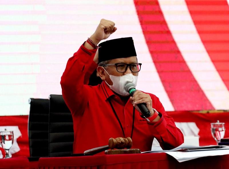 Elektabilitas PDI Perjuangan 22,6%, Hasto: Jangan Cepat Puas