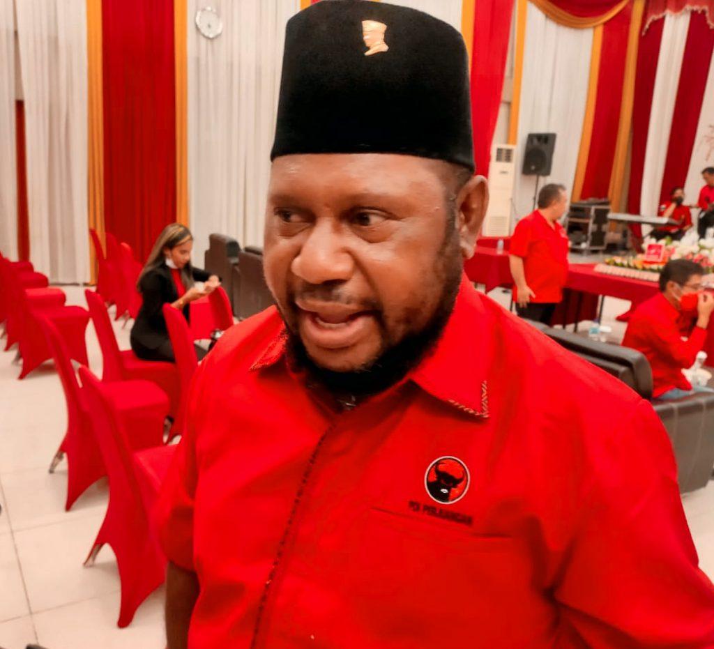 Mantap, Banteng Papua Barat Mulai Bangun Gedung Sekretariat