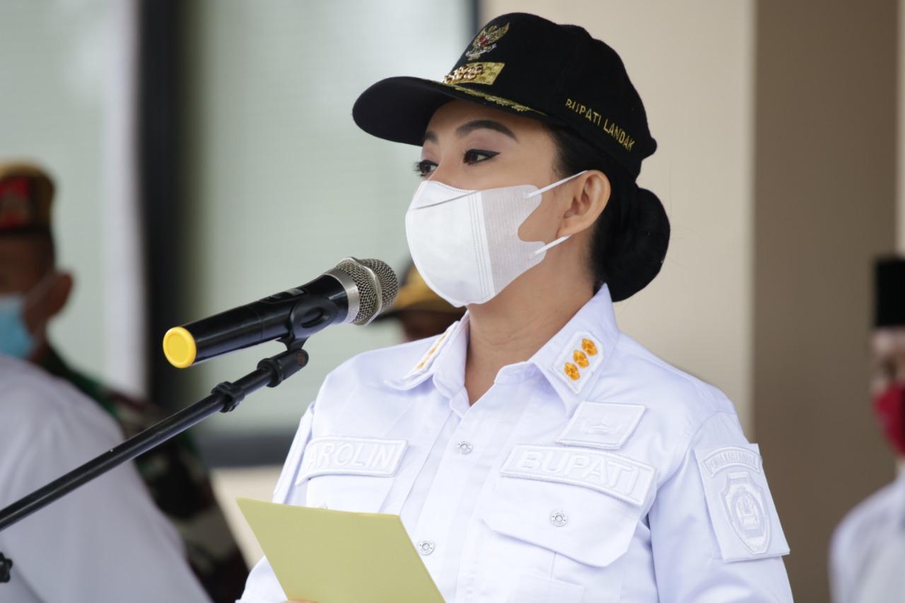 Karolin Gandeng TNI & Polri Sekat Perbatasan Landak