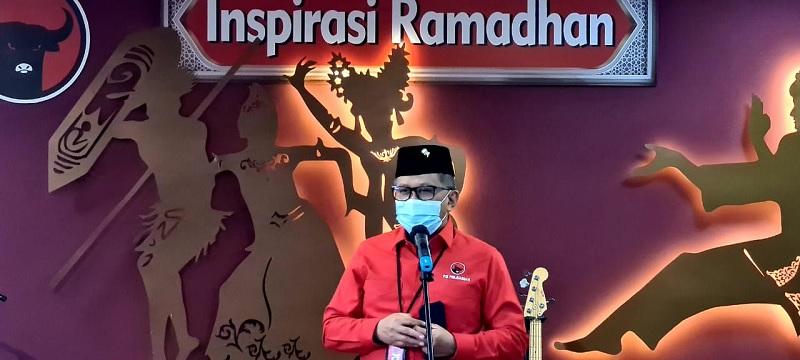 Nasi Liwet Hasto Kristiyanto Bagi Parpol Koalisi Jokowi-Amin