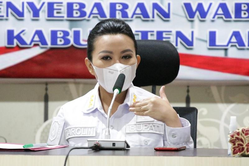 Monitor Zona Merah, Karolin Petakan Hingga Tingkat Dusun