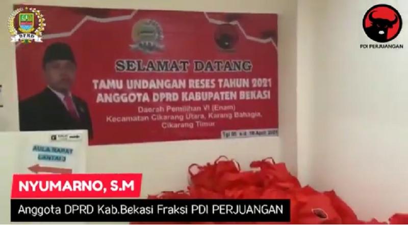 Sembako Lebaran, Banteng Kab Bekasi Nyumarno Siap 1000 Paket