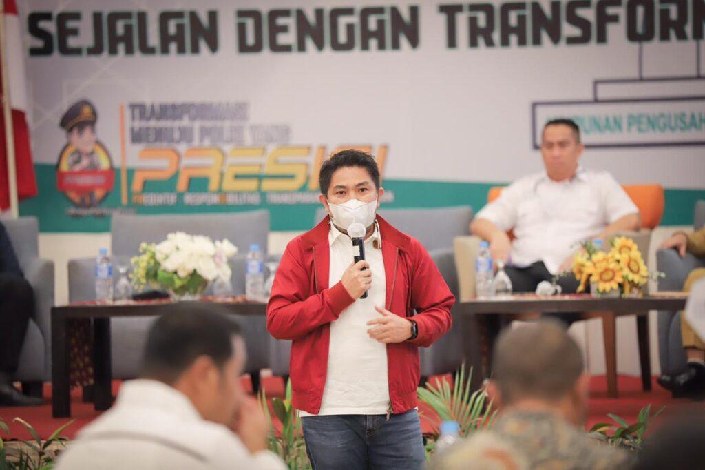 Syaripuddin Serap Aspirasi Pemuda Batulicin