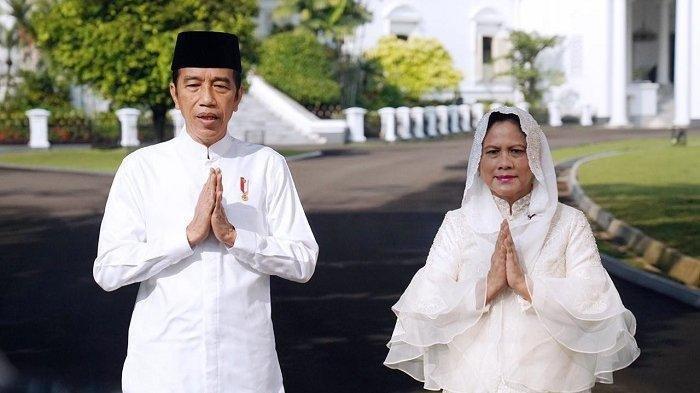 Presiden Jokowi & Ibu Negara Ucapkan Selamat Idul Fitri
