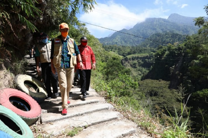 Ganjar Sukses Jadikan Dusun Girpasang Diserbu Wisatawan