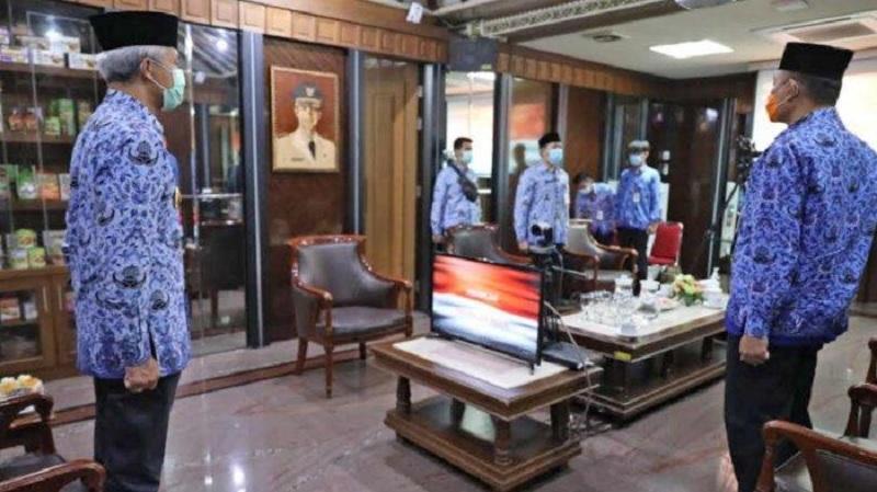Ganjar: DPRD Salatiga di Malang Nyanyikan Indonesia Raya