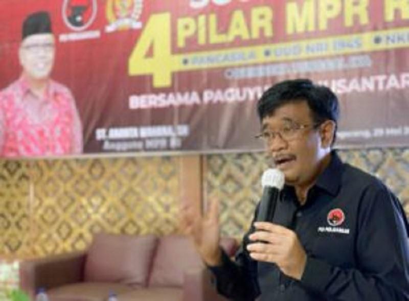 Djarot Bicara Pancasila di Padepokan Kebangsaan K. Tumaritis